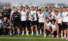 Cristiano Ronaldo compartió su último premio con el Real Madrid