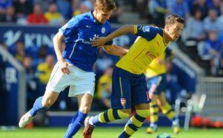 Arsenal empató 1-1 con Leicester por la Premier League
