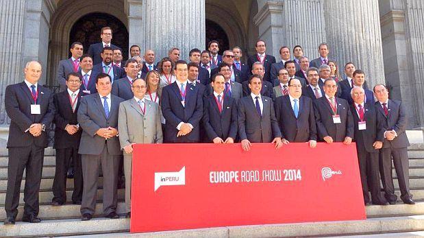 inPerú comenzó su gira y se reúne con inversionistas en Madrid