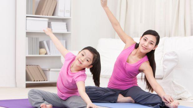 Cuatro formas de hacer ejercicios con tus hijos