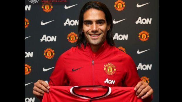 Confirmado: Falcao es el nuevo delantero del Manchester United