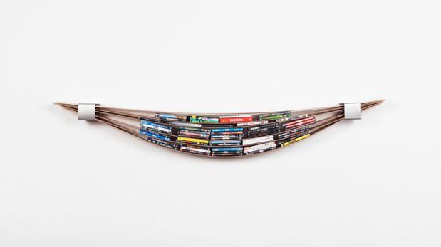 'Chuck': El librero flexible que puedes moldear a tu antojo