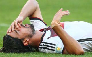 Lesión de Khedira enfrenta al Real Madrid y selección alemana