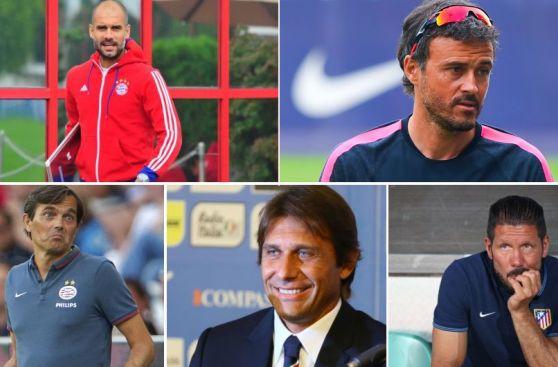 Guardiola, Inzaghi y Simeone: los técnicos Sub 45 de esta era