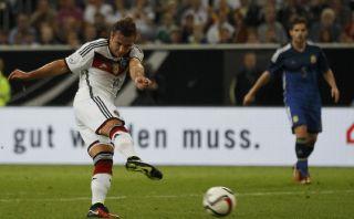 Götze le volvió a anotar a Argentina y evitó goleada en casa