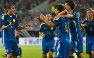 Argentina ganó 4-2 a Alemania con gran actuación de Di María