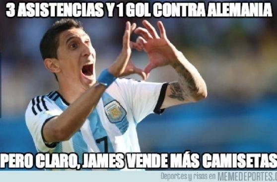Los memes que generó la victoria de Argentina sobre Alemania