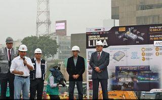 La estructura del Centro de Convenciones de Lima está a un 50%