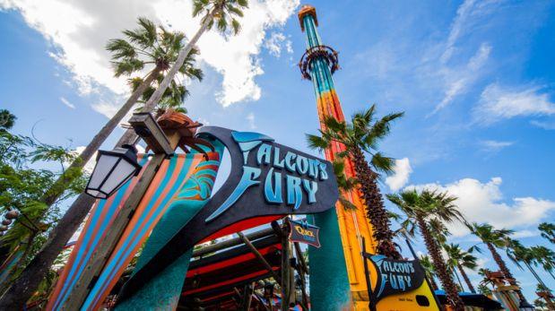 Falcon's Fury: La primera torre de caída más alta de EE.UU.