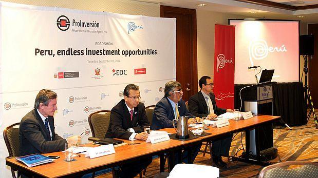 Pro Inversión cerró con éxito road show de Perú en Toronto