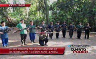 Clan Quispe Palomino muestra todo su poderío en armas [VIDEO]