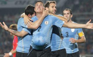 Uruguay venció 1-0 a Corea del Sur en gira asiática