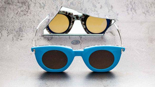 Reversibles: Mira estos llamativos lentes de sol dos en uno