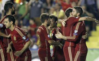 España renace con goleada de 5-1 sobre Macedonia por Euro 2016