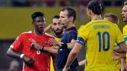 """Ibrahimovic tras codazo: """"Deberían castigarme con 40 partidos"""""""