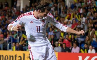 Bale marcó doblete para el triunfo de Gales 2-1 sobre Andorra