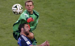 Neuer habló por primera vez de su choque con Higuaín en Brasil