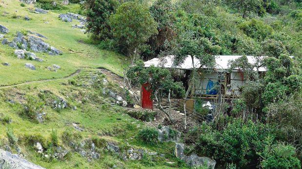 Casa fue construida cerca de Kuélap alterando paisaje