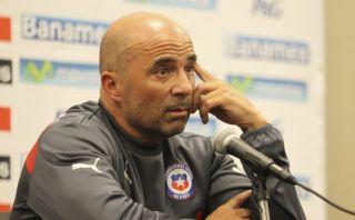 "A Jorge Sampaoli no le preocupa la ""falta de gol"" en Chile"