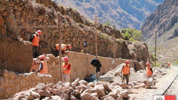 Ollantaytambo: piden al PJ paralice obras en vía de evitamiento