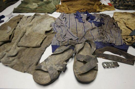 Las prendas halladas en fosas cercanas a 'Los Cabitos' [Fotos]