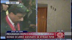 Caso Fefer: inició la inspección ocular a casa de la empresaria