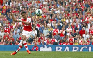 Mira el golazo de Alexis Sánchez ante el Manchester City