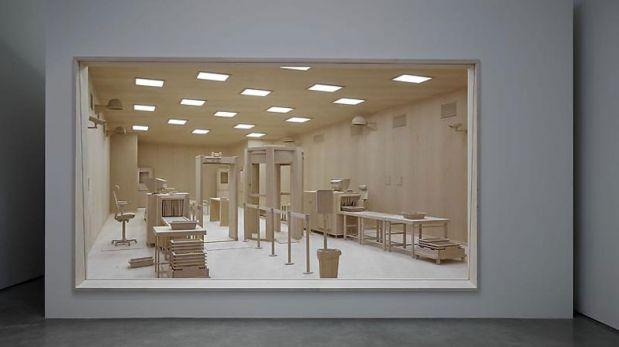 ¿Aeropuerto de madera? Esta obra causa sensación en Nueva York