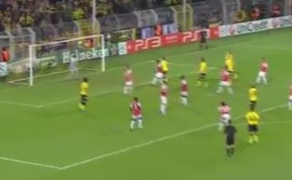 Dortmund espera repetir un golazo como este hoy ante Arsenal