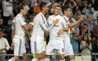 Real Madrid goleó 5-1 al Basilea en el inicio de la Champions