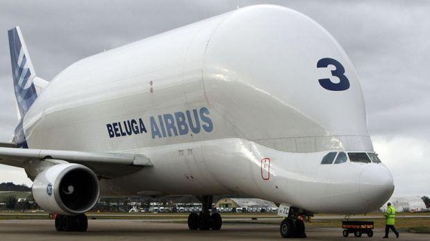 Diseño singular: Beluga es el avión más raro del mundo