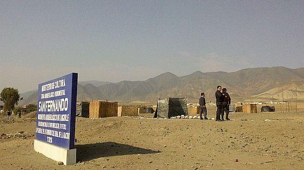 Recuperaron sitio arqueológico Chacra Socorro en Huaura