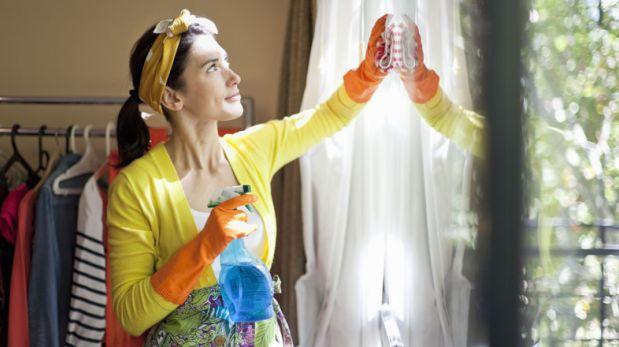 Mantén tu casa limpia y ordenada