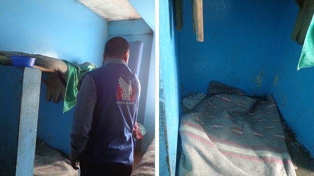 Defensoría: internos de penal en Chiclayo duermen en los baños