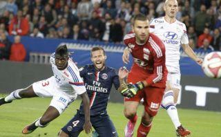 PSG empató con el Lyon y está a 3 puntos del líder
