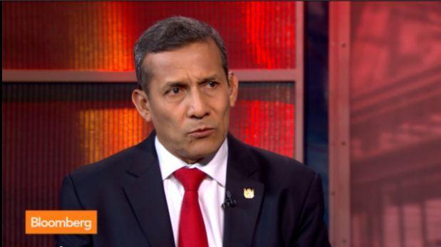 Lee la traducción de la entrevista que dio Humala a Bloomberg