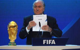 Blatter es presionado para que publique el informe Qatar 2022