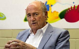 Blatter buscará en 2015 su reelección en presidencia de la FIFA