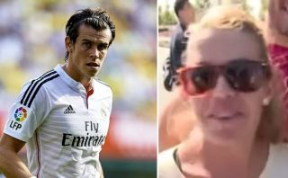 VIDEO: Gareth Bale atropella el pie de una aficionada