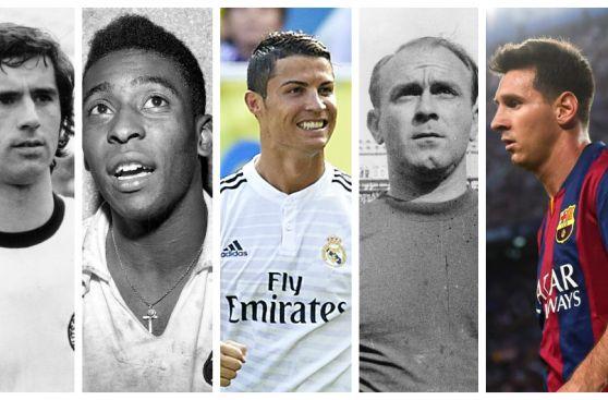 Leo Messi y sus 401 goles lejos de las cifras de ex goleadores