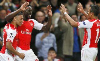Arsenal despertó en Champions y goleó 4-1 al Galatasaray