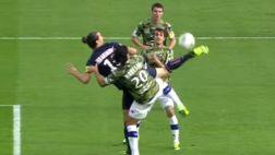 Zlatan y sus fascinantes goles de taco que no te puedes perder