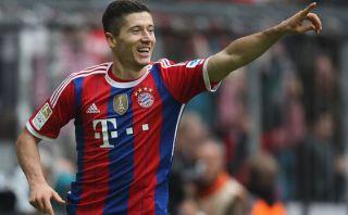 Así fue el primer 'doblete' de Lewandowski con el Bayern Múnich