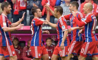 Bayern Múnich goleó 4-0 al Hannover 96 por la Bundesliga