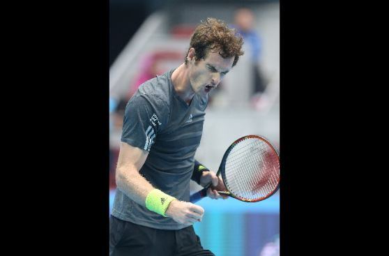 La ira de Andy Murray en el momento de perder contra Djokovic
