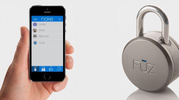 Olvídate de las llaves y las claves con este candado Bluetooth