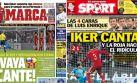 La prensa española critica a selección: