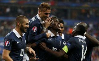 Con golazo de Pogba, Francia le ganó 2-1 a Portugal de Ronaldo
