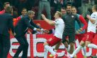 ¡Caída histórica! Alemania perdió por primera vez ante Polonia