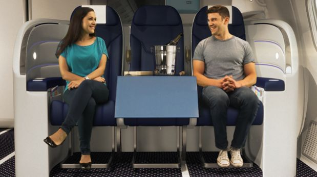 Un avión más amigable: Conoce esta nueva y cómoda propuesta